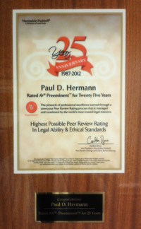 25 year anniversary plaque